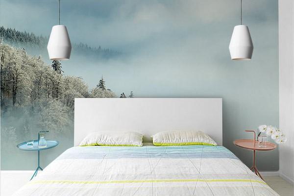 Delicieux Papier Peint Chambre : Quelle Est La Couleur Idéale
